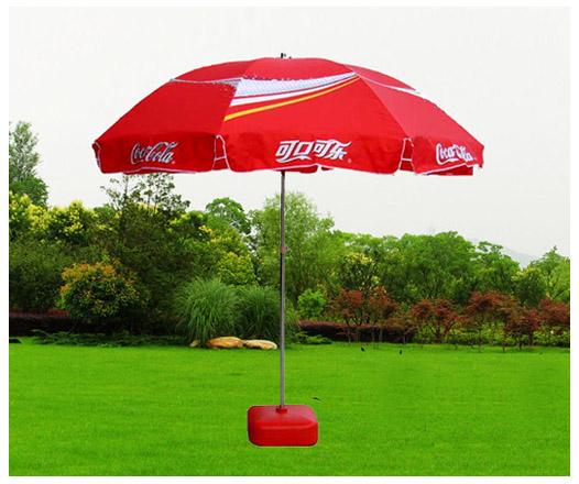 Captivating Red Coca Cola Umbrella