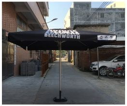Custom 3x3m Square Umbrella
