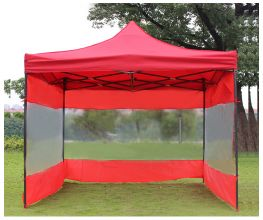 10'x10' Tent with PVC Walls